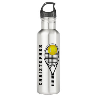 Tennis Personalized Name or Monogram 710 Ml Water Bottle