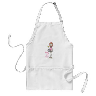 TENNIS PLAYER ADULT APRON