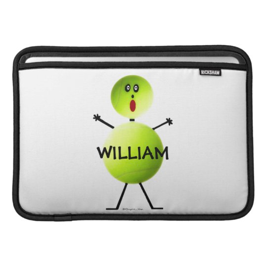 Tennis Player Cartoon Sleeve For MacBook Air