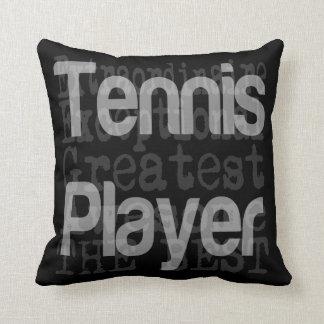 Tennis Player Extraordinaire Cushion