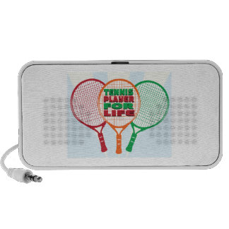Tennis player for life iPhone speaker
