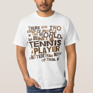 Tennis Player Gift T-Shirt