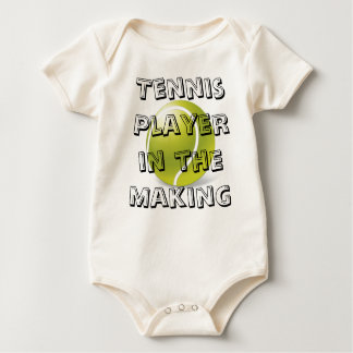 Tennis Player in the Making baby outfit Baby Bodysuit