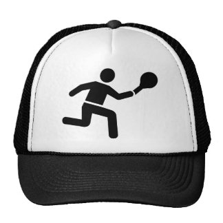Tennis player logo hats