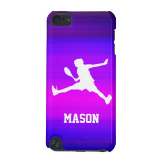 Tennis Player; Vibrant Violet Blue and Magenta iPod Touch 5G Cover