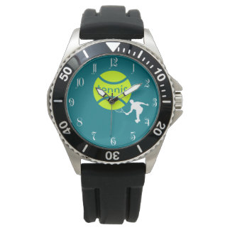 Tennis player watch