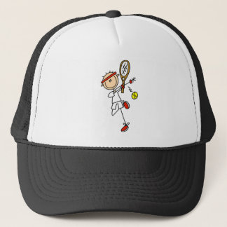 Tennis Player with Racquet Tshirts and Gifts Trucker Hat