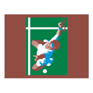 Tennis Post Card
