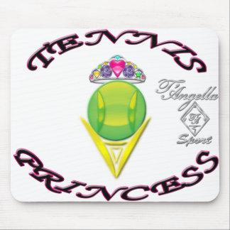 Tennis Princess mousepad