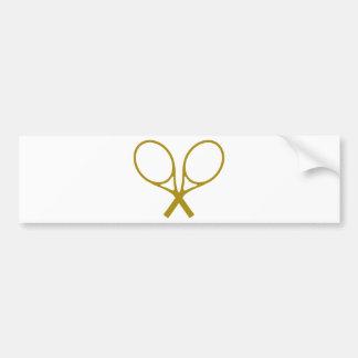 tennis-racket-2 bumper sticker