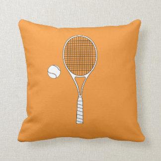 Tennis Racket and Ball American Mojo Pillows