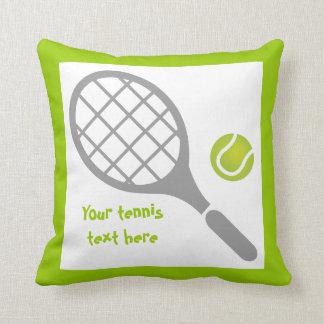 Tennis racket and ball custom cushion