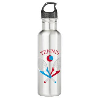 Tennis rackets and tennis ball 710 ml water bottle