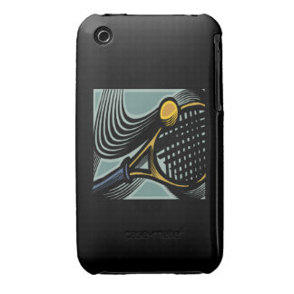 Tennis Racquet iPhone 3 Cover