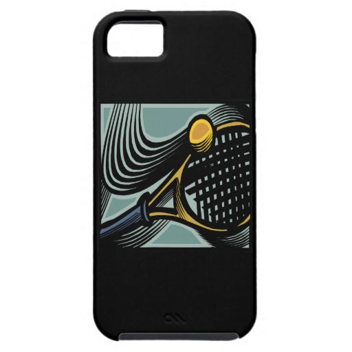 Tennis Racquet iPhone 5 Covers