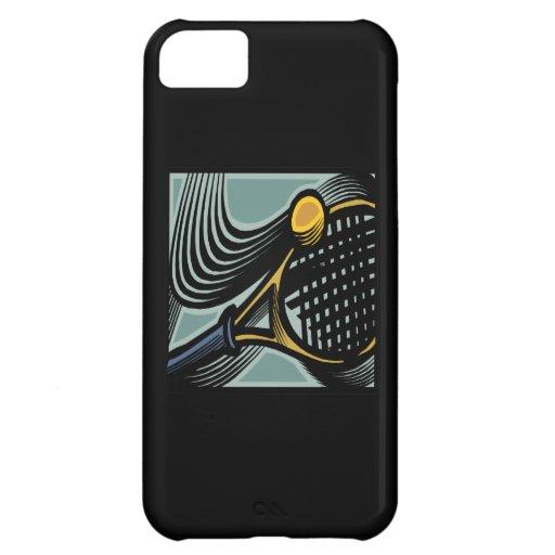 Tennis Racquet iPhone 5C Cases