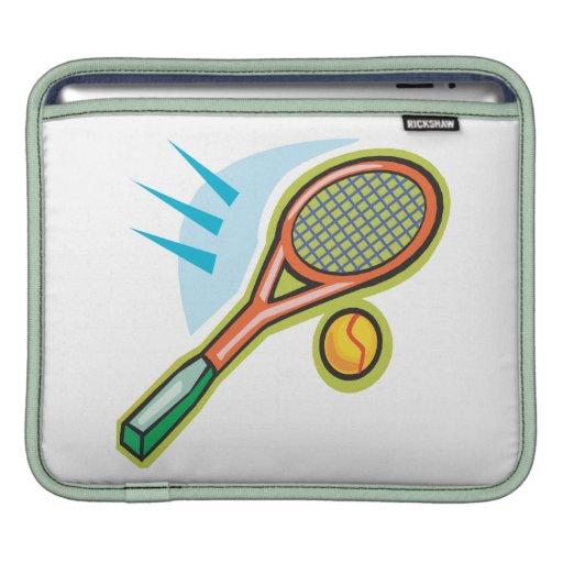 Tennis Racquet iPad Sleeve