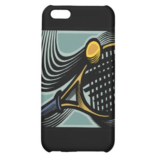 Tennis Racquet iPhone 5C Cover
