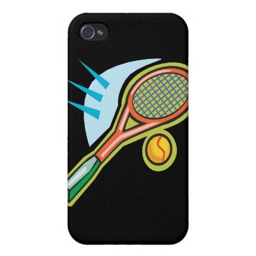 Tennis Racquet iPhone 4 Case