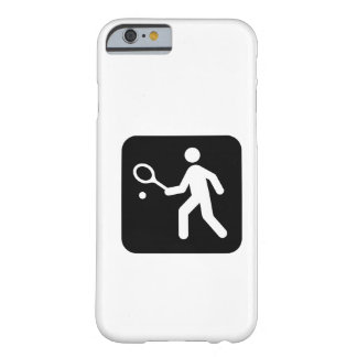 Tennis Racquetball Pictogram Barely There iPhone 6 Case