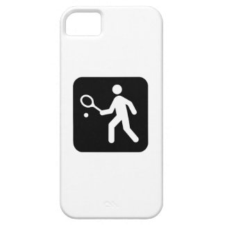 Tennis Racquetball Pictogram iPhone 5 Cases