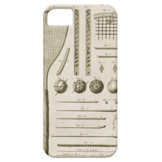 Tennis Racquets and Billiard Cues, from the 'Encyc Case For The iPhone 5
