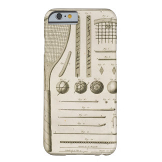 Tennis Racquets and Billiard Cues from the Encyc iPhone 6 Case