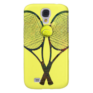 TENNIS RACQUETS & BALL 3  GALAXY S4 CASE