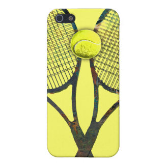 TENNIS RACQUETS & BALL iPhone 4 Speck Case iPhone 5/5S Covers