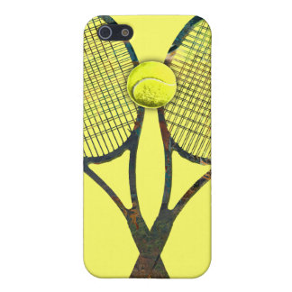 TENNIS RACQUETS & BALL iPhone 4 Speck Case iPhone 5 Cases