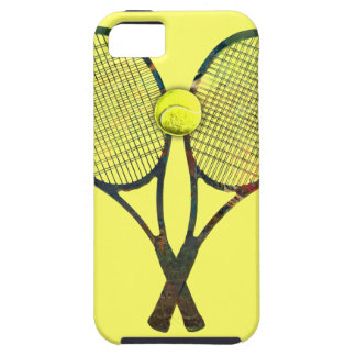 TENNIS RACQUETS & BALL iPhone 5 Case-Mate Case