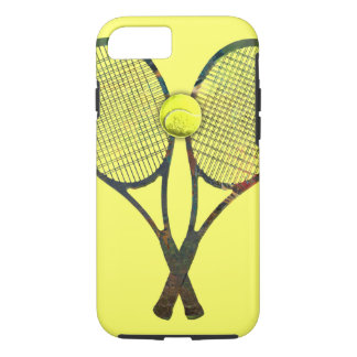TENNIS RACQUETS & BALL iPhone 7 Case