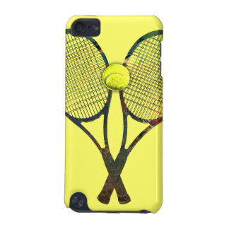 TENNIS RACQUETS & BALL iPod Touch Speck Case iPod Touch (5th Generation) Cases