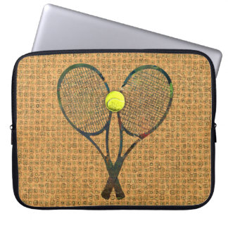 TENNIS RACQUETS & BALL Laptop Sleeve