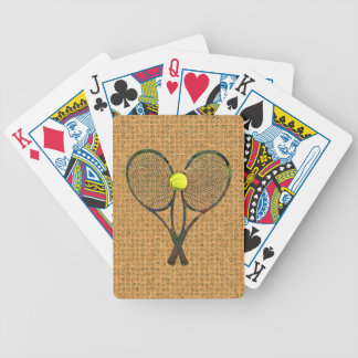 TENNIS RACQUETS & BALL Playing Cards