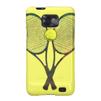 TENNIS RACQUETS & BALL Samsung Galaxy S II Case Galaxy S2 Covers
