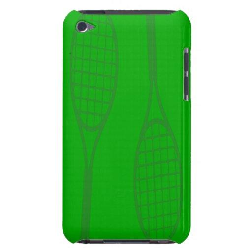 Tennis Racquets iPod Case-Mate Case