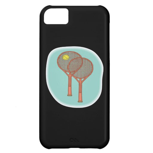 Tennis Racquets Case For iPhone 5C