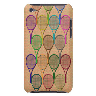 TENNIS RACQUETS IN COLOR iPod Touch Case-Mate Case