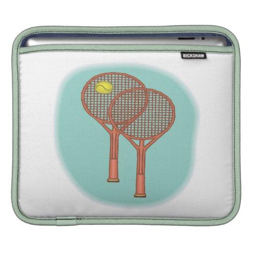 Tennis Racquets iPad Sleeve
