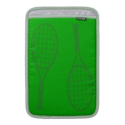 Tennis Racquets MacBook Air Sleeves