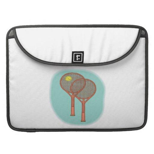 Tennis Racquets MacBook Pro Sleeve