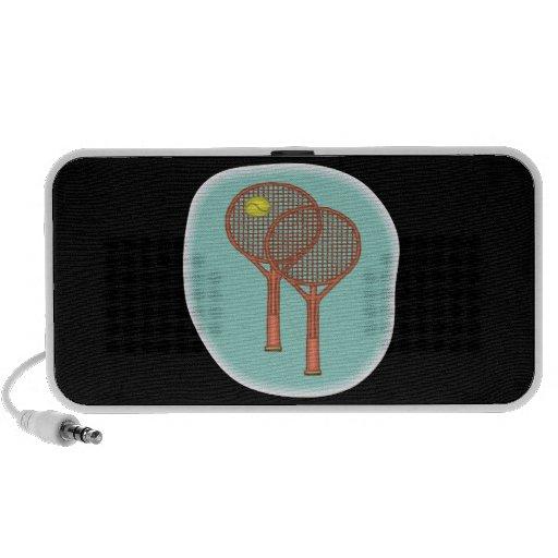 Tennis Racquets iPhone Speaker