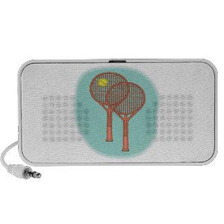 Tennis Racquets Travelling Speaker