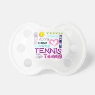 Tennis Repeating Baby Pacifier