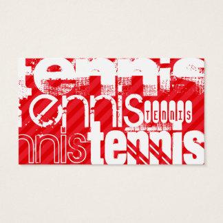Tennis; Scarlet Red Stripes