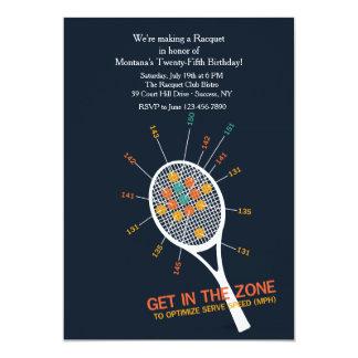 Tennis Serve Zone Invitation
