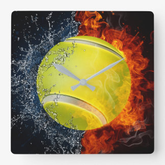 Tennis Served Clock