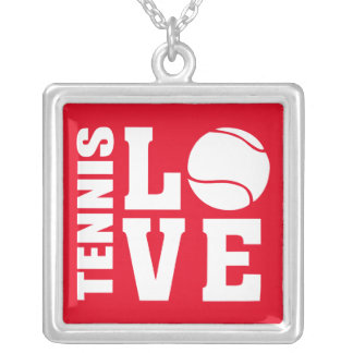 Tennis Silver Plated Necklace