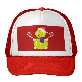 Tennis snowman cap